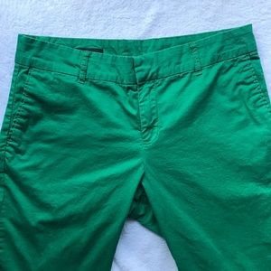 Kut From the Kloth Green Taylor Crop Trouser
